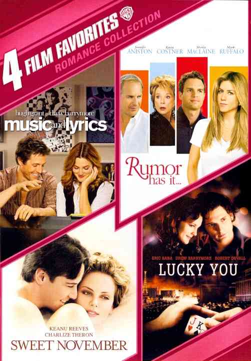 4 FILM FAVORITES:ROMANCE COLLECTION (DVD)