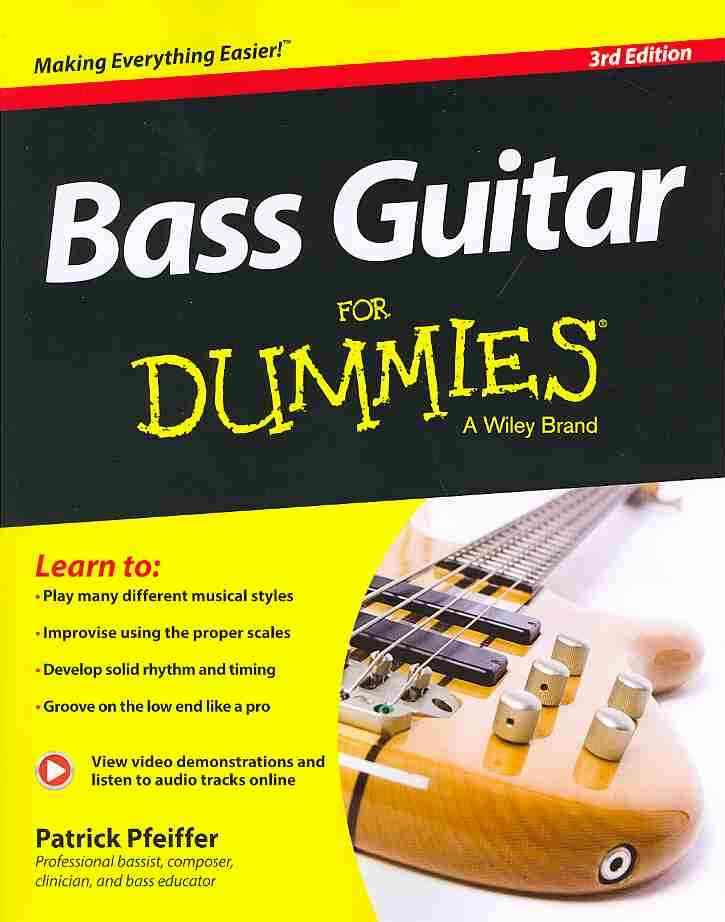 Bass Guitar for Dummies By Pfeiffer, Patrick